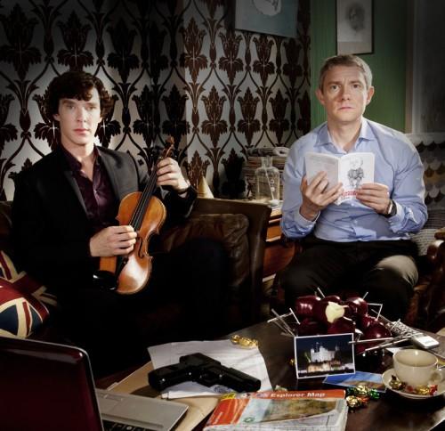 3 сезона сериала «Шерлок»