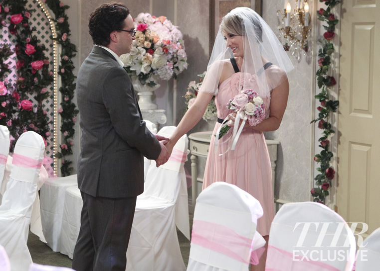 Big bang theory wedding