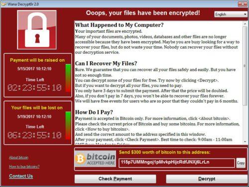 WanaCrypt0r 2.0